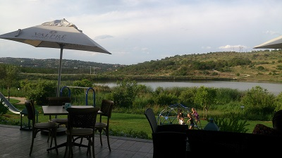 Spectacular views from Carlita's Restaurant at The Hills Game Reserve Estate Clubhouse, Pretoria. Photo by Phindiwe Nkosi.