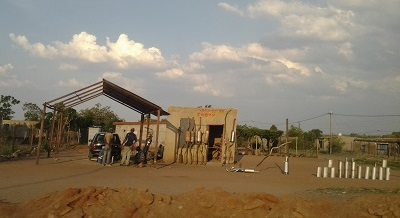 Various small business goods are often sold near carwashes. Photo by Phindiwe Nkosi