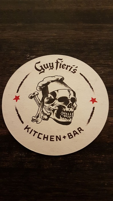 Guy Fieri's Kitchen & Bar coaster