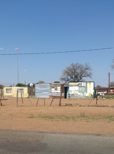 Shacks in the North West. Photo by Phindiwe Nkosi