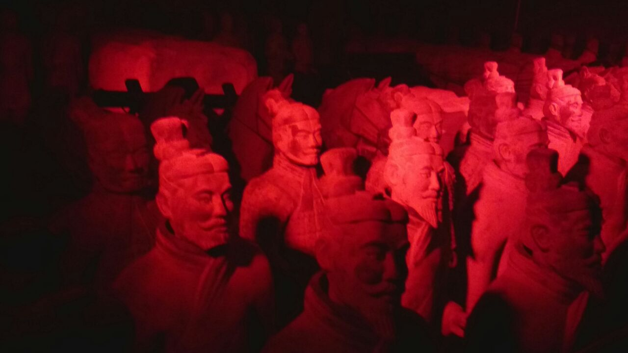 The Terracotta Army and the First Emperor of China exhibition at Centurion Mall. Photo by SL