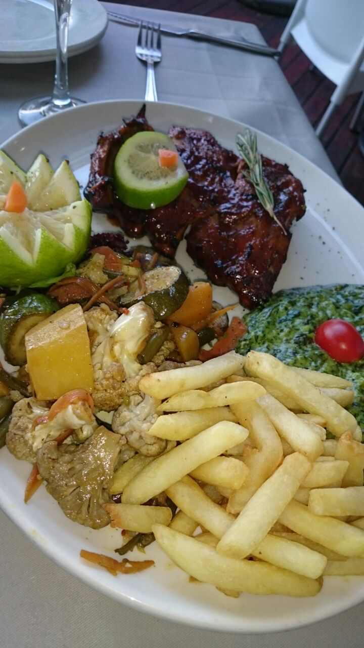 The delicious ribs at O'Galito restaurant. Photo by SL