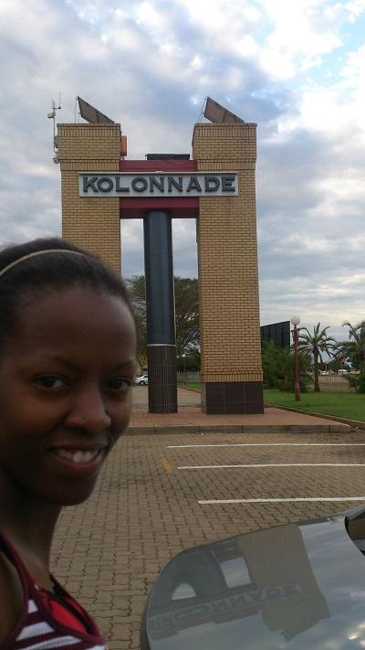Phindiwe Nkosi at Kolonnade Shopping Centre in Montanapark, Pretoria