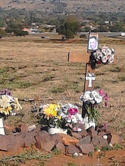 "Lest we ever forget: A roadside ""monument"" in Pretoria. Photo by Phindiwe Nkosi"