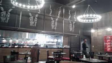 Guy Fieris kitchen and bar at Sun International Time Square in Menlyn, Pretoria. Photo by Phindiwe Nkosi.