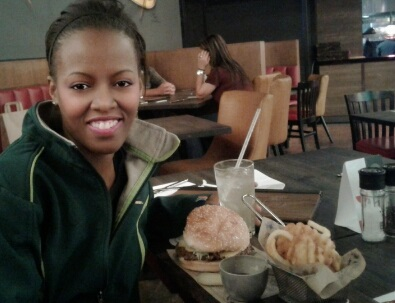 Phindiwe Nkosi at Guy Fieris kitchen and bar at Sun International Time Square in Menlyn, Pretoria