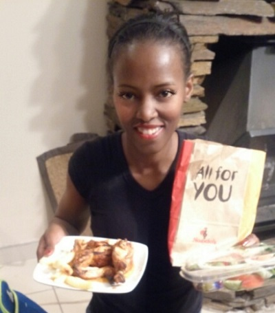 Nando's [takeaway] from Jean Crossing, Centurion. Photo by S N-B.
