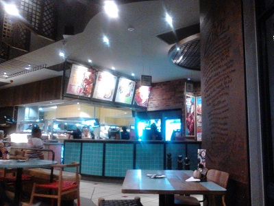 Nando's at Jean Crossing [Mall], Centurion. Photo by Phindiwe Nkosi.