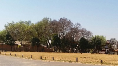 Play area across Randjesfontein Breakfast Clubhouse (Restaurant) in Midrand. Photo by S NB / Phindiwe Nkosi
